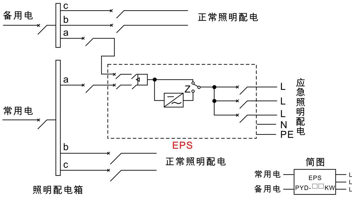 km-770应急灯电路图